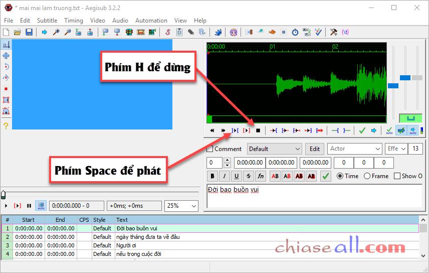 cách làm video lyric trên máy tính