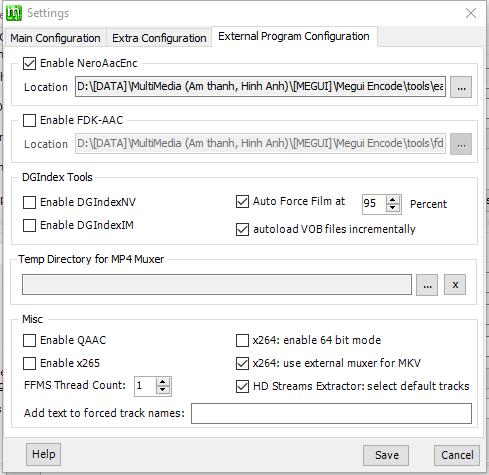 hướng dẫn encode bằng megui