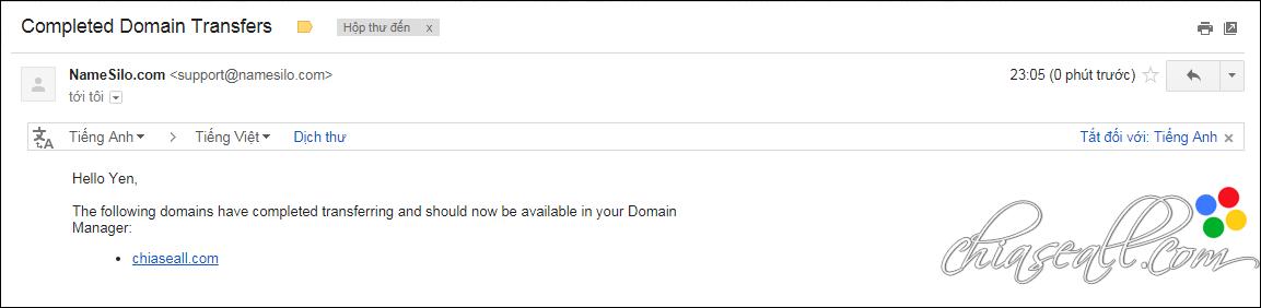 transfer domain from godaddy to namesilo 17