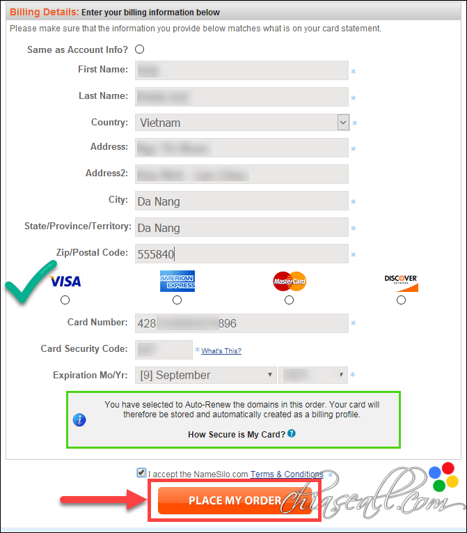 transfer domain from godaddy to namesilo 5