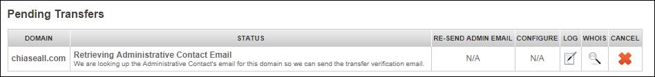 transfer domain from godaddy to namesilo 7
