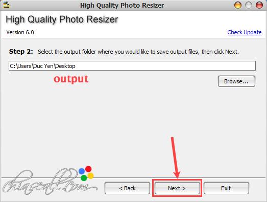 giảm kích thước ảnh không làm giảm chất lượng bằng high quality photo resizer