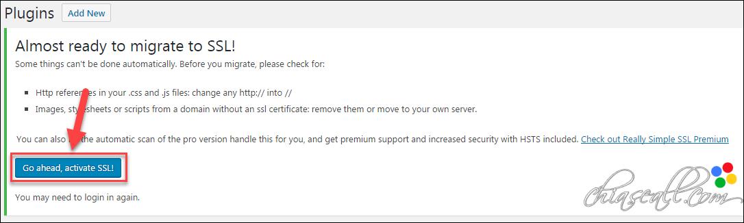 cài đặt https cho website hosting hawkhost