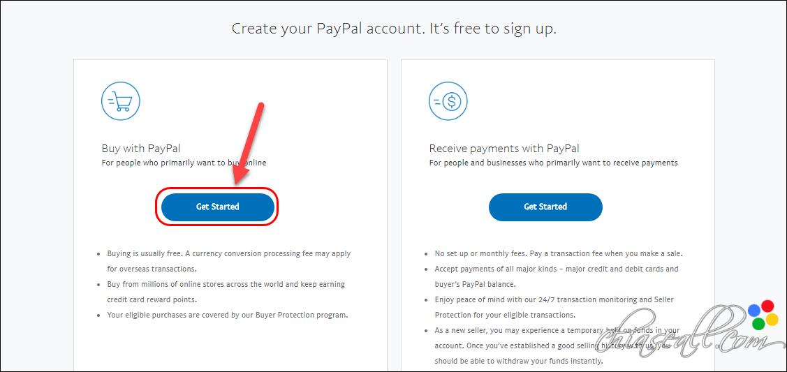 hướng dẫn đăng ký tài khoản paypal 2020