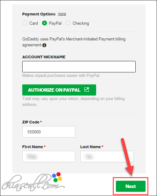 payment bay paypal
