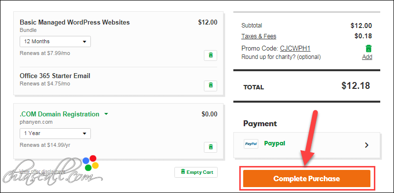 payment by paypal 2