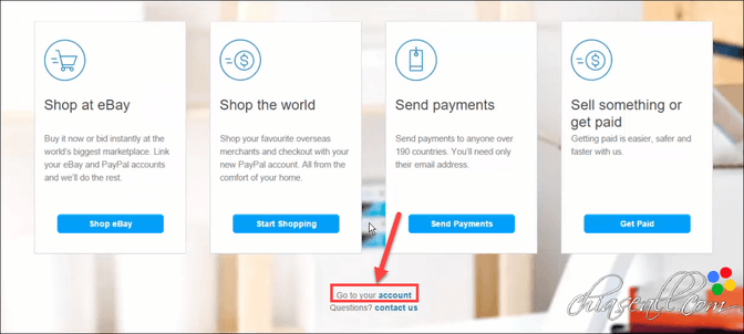 cách đăng ký tài khoản Paypal