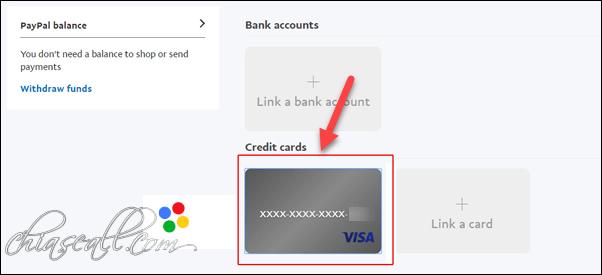 các bước xác thực tài khoản paypal