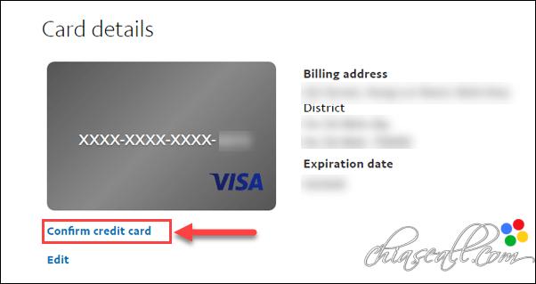 hướng dẫn xác thực tài khoản paypal
