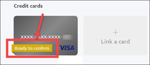 xác thực paypal bằng visa