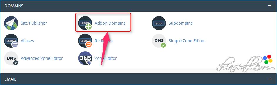 thêm domain vào host trên hawk host