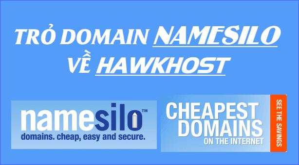 trỏ domain namesilo về host
