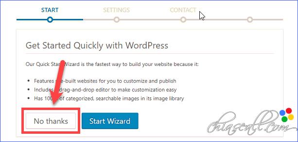 cài đặt website lên godaddy hosting