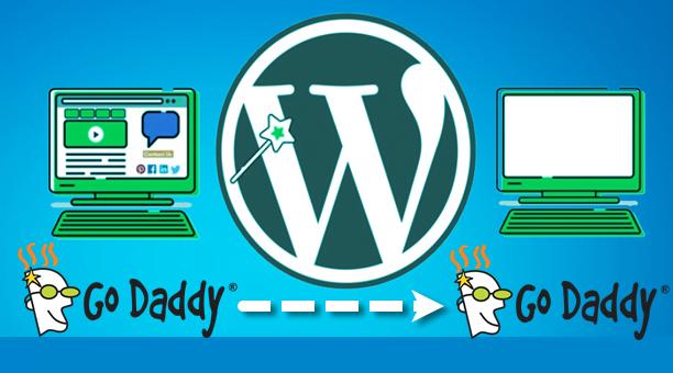 chuyển website từ hosting godaddy sang hosting godaddy mới
