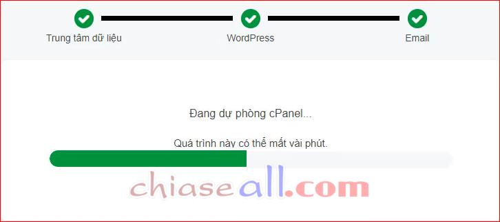 cai dat wordpress tren hosting godaddy cpanel 6