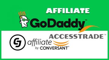 kiếm tiền cùng godaddy affiliate
