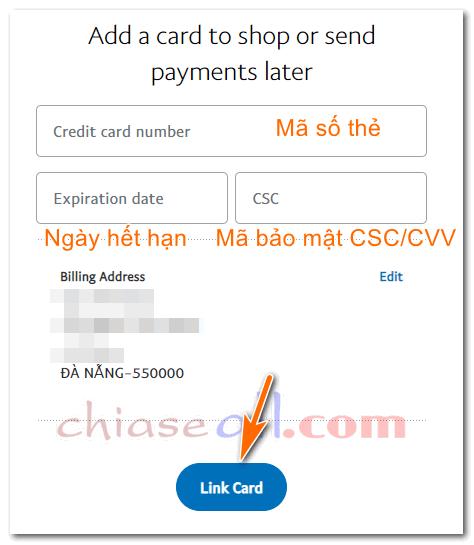 cách lập tài khoản paypal