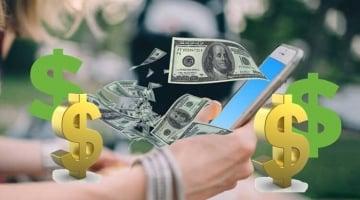 ứng dụng app kiếm tiền trên điện thoại