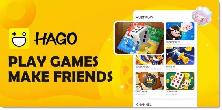 ứng dụng chơi game kiếm tiền thật hago