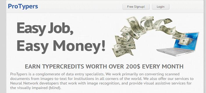 gõ captcha kiếm tiền protypers