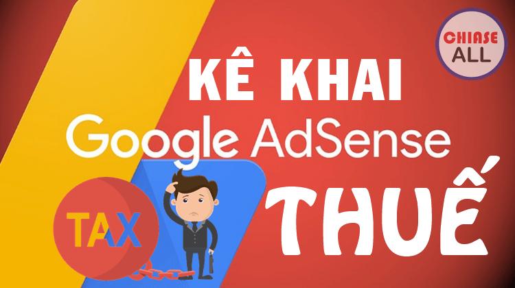 kê khai thuế google adsense