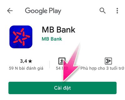 tải app MB Bank nhận tiền thưởng