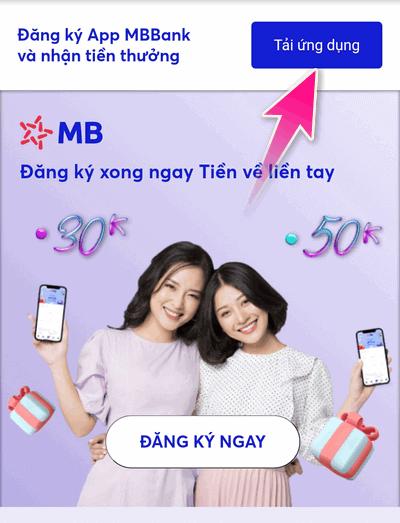 tải app MB Bank kiếm tiền trên điện thoại