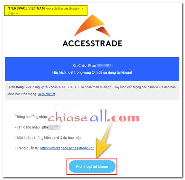 đăng ký tài khoản accesstrade 3