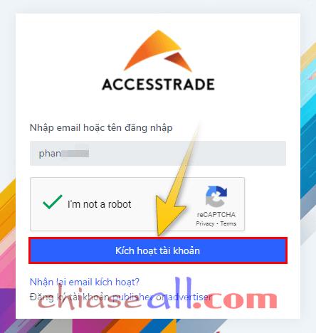 đăng ký tài khoản accesstrade 4