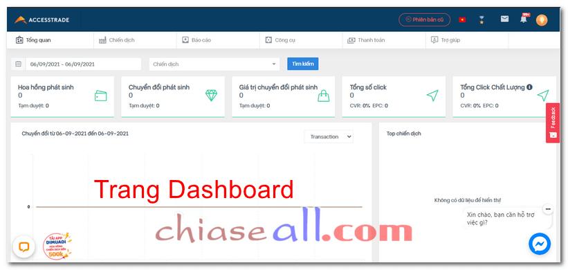 đăng ký tài khoản accesstrade 9