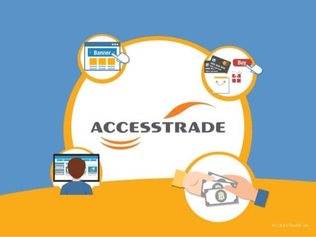 mô hình hoạt động của Accesstrade