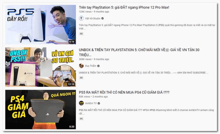 kênh Youtube review sản phẩm